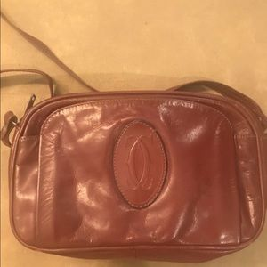 Authentic cartier vintage crossbody bag